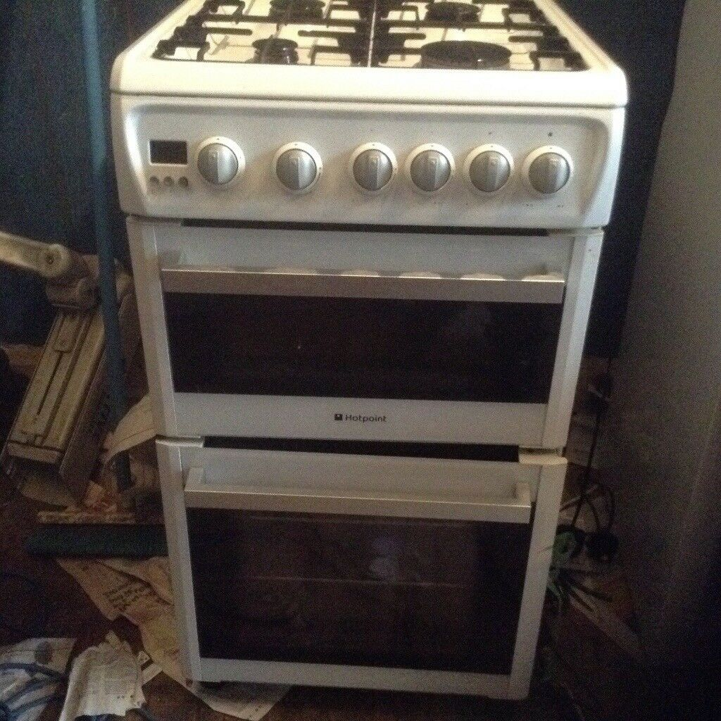 Gas cooker,fold down lid,£85.00