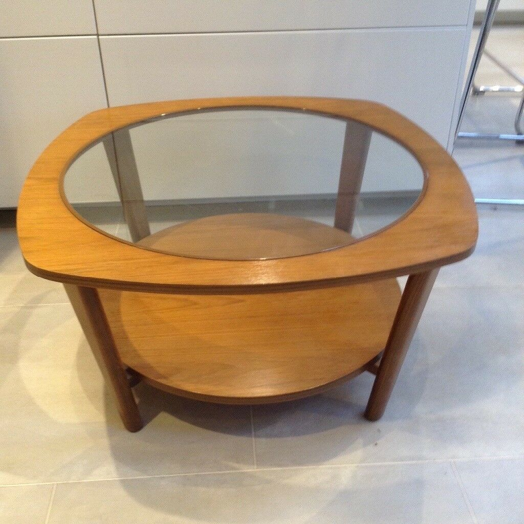 Vintage Retro Danish Coffee Table Eames Ercol Style