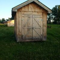 Cabin/Shed's for sale