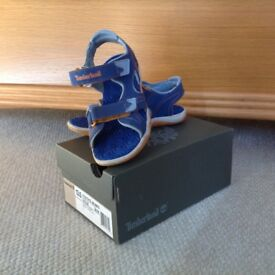Like New: Timberland sandals size 13.5 - immaculate condition. New £30, asking £8.