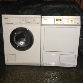 Miele Professional Washing machine and Condenser Dryer