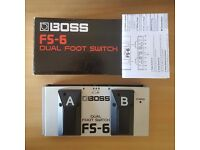 BOSS FS-6 Dual Foot Switch/Pedal