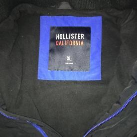 Men's Navy XL Hollister jacket