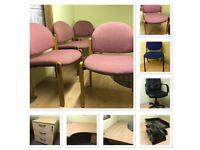 Excellent condition office furniture sale