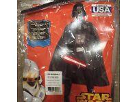Darth Vader fancy dress costume (Unisex)