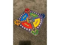 Pop and hop board game
