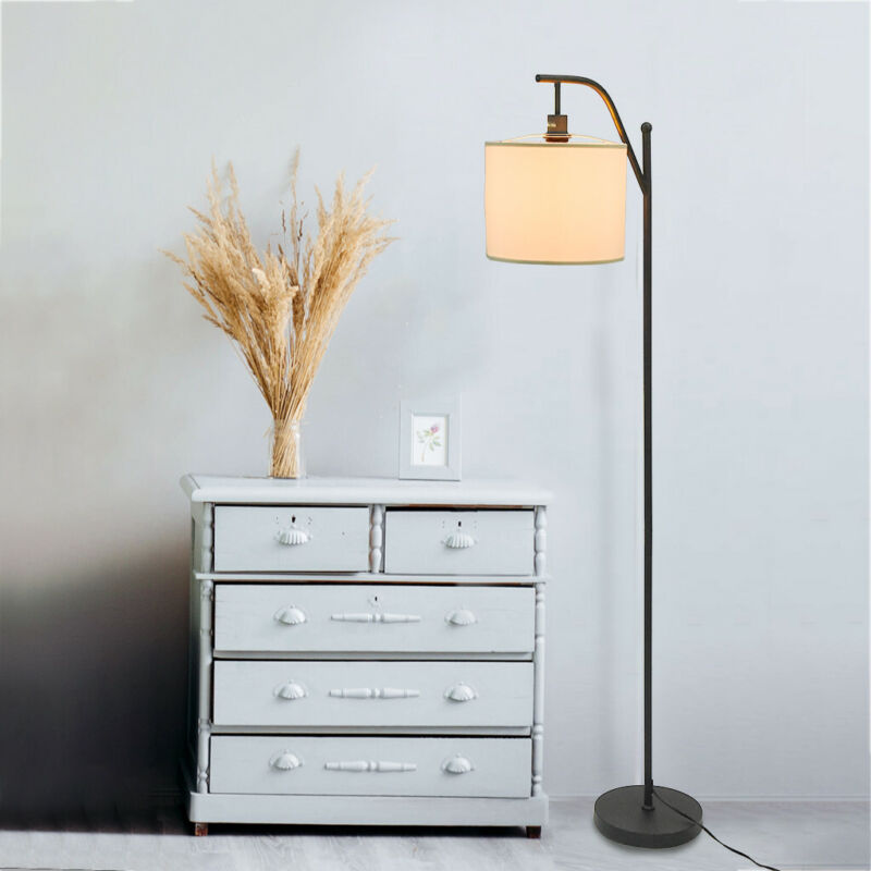 66 inch Modern Floor Lamp Shade Iron + Cloth for Living Room