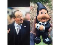 Newcastle United Rafa Benitez Garden Gnome 🎨⚽️