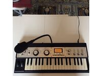 Korg MicroKorg XL synthesiser & vocoder with mic, Boxed