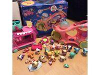 Toys. Littlest pet shop collection