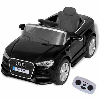 vidaXL Coche Eléctrico de Juguete con Control Remoto Audi A3 3 Marchas...
