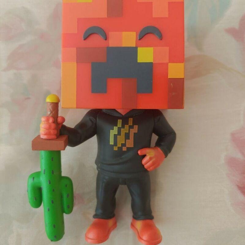 PrestonPlayz Youtooz Figure No Box Sold Out Minecraft Collectable Preston Playz