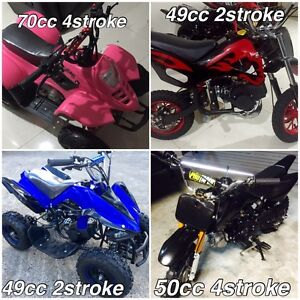 SPOIL YOUR KIDS FOR CHRISTMAS , AFFORDABLE MOTORBIKES Deception Bay Caboolture Area Preview