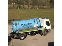 LGV Category C Driver/Operator For Sewage Tanker Work
