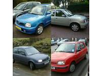 Wanted nissan micra k11 automatic auto