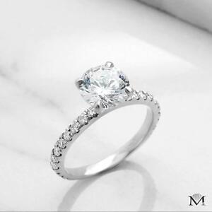 BAGUE DE MARIAGE 1.50 CARAT EN OR 14K / WEDDING RING 1.50 CARAT ON14K GOLD