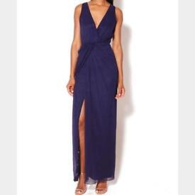 VLabel Navy Maxi Dress