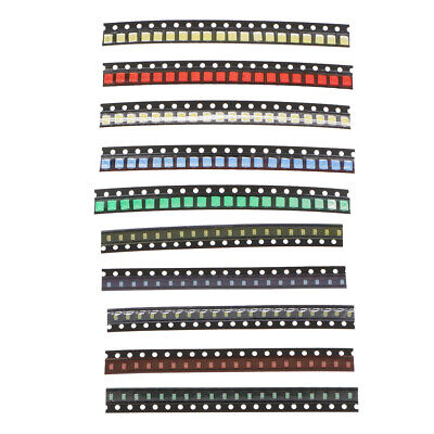 200 Pcs Smd Led Diodes Kit With Five Colors