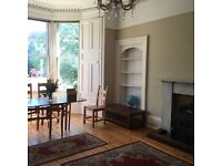 Bruntsfield Victorian 4 bedroom flat on quiet cul de sac, secure, for mature students