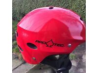Helmet for boarding/ biking
