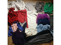 bundle of clothes for woman in size 34/36