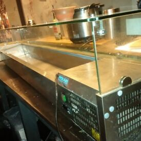 Polar G611 Refrigerated counter top servery