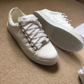 Balenciaga Arena low leather white uk8