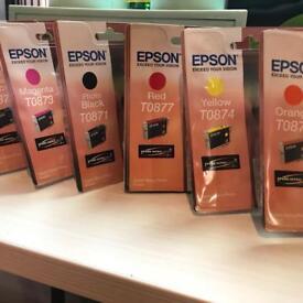 Epson ink cartridges inkjet printer R1900pp