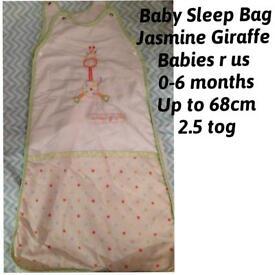 0-6 month baby sleeping bag
