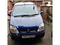 Renault scenic 2001. Petrol 1.4 5 door. £250 ONO. Phone 07568532015