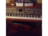 Yamaha cvp 305 digital piano
