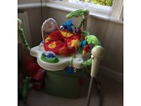 Jumperoo fisher price rainforest hardly used
