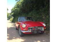 MGB 1.8 1966 ROADSTER IN GREAT CONDITION