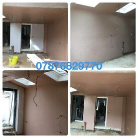 AVAILABLE NOW .PLASTERING ,SKIMMING. K REND AND RENDERING SERVICES ALL LONDON