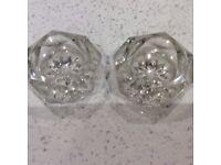 Victorian cut glass salts