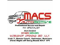 MACS AUTOMOTIVE mechanic