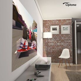 Optima GT 5000 1080P Ultra Short Throw Home Cinema Projector System