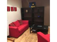 Large city centre flat with spare double room availble