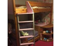 Children's high sleeper bed