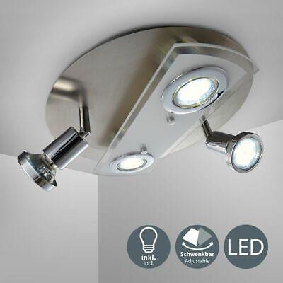 Lámpara LED De Techo Foco para Techo Focos Lámpara 4-flammig Salón Cocina