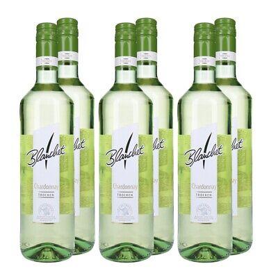 Blanchet Chardonnay Weißwein Trocken 6 x 0,75 L