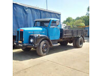 Left hand drive Scania Vabis 56 6 tyres 15 ton tipper.