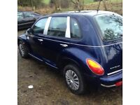 Chrysler PT Cruiser. '04 reg