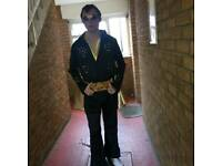 Elvis tribute artist looking for places to perform and possibly a band