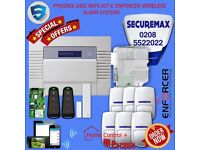 UK Wireless Intruder-Alarm System (1 year warranty with fitting)