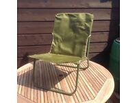 Fishing chair folding