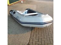 honwave 2.7 airdeck boat with Yamaha 8hp 2 stroke engine, Fuel tank and air pump. Ready to use