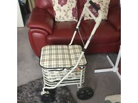 New shopping trolley