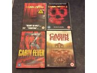 Cabin fever 1-3 plus 2016 remake