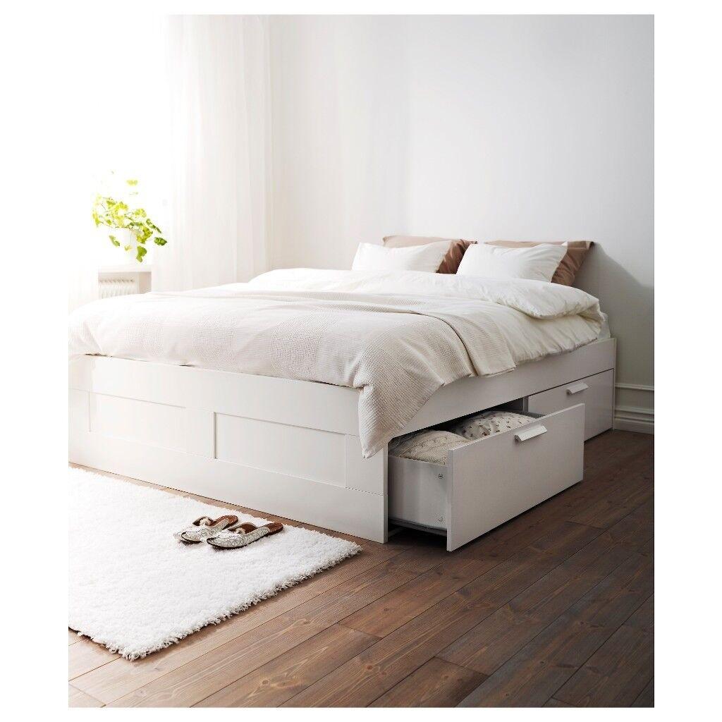 Ikea double bed + mattress